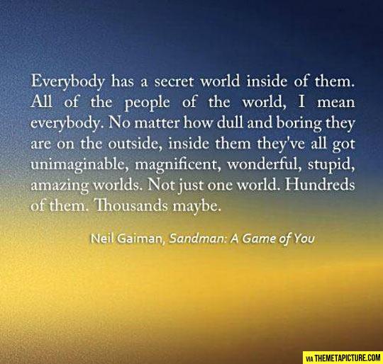 Everybody has a secret…