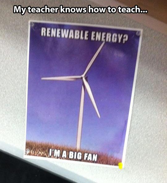 I'm a big fan…