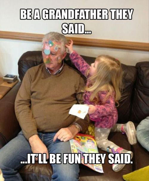 Grandparents are great…