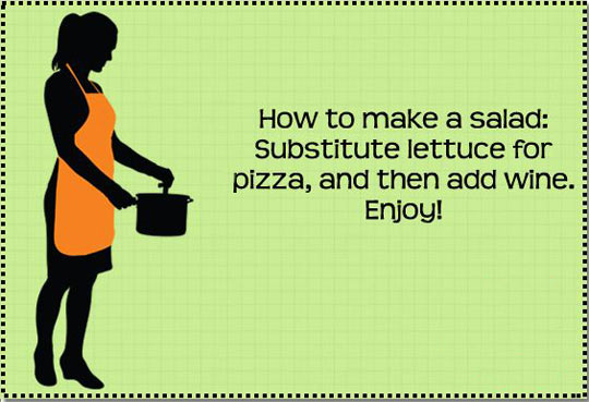 How to make a great salad…