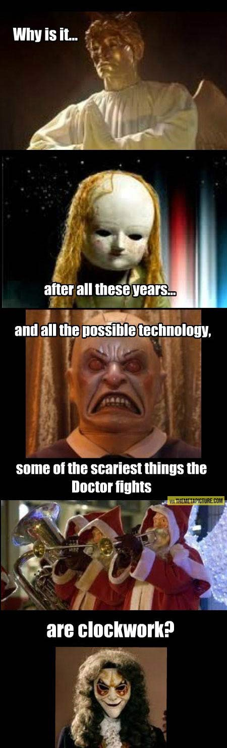 The scariest things on the show…