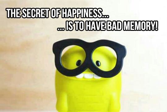 Bad memory…