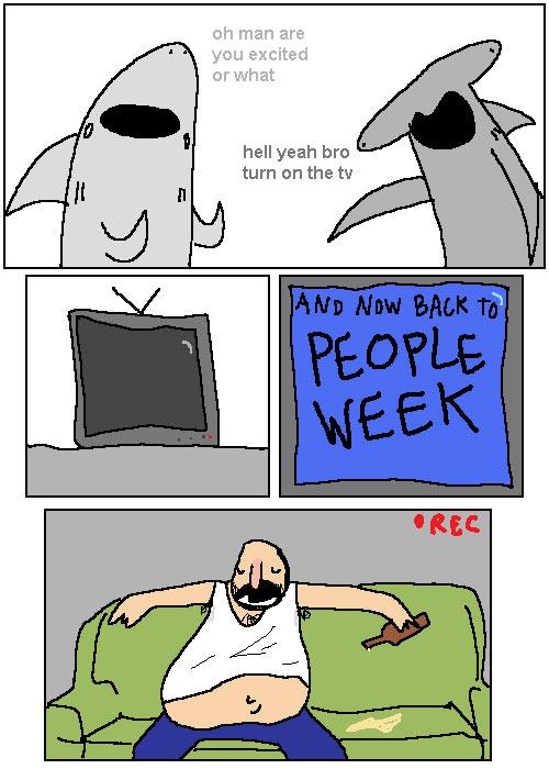 In a parallel universe: People Week…
