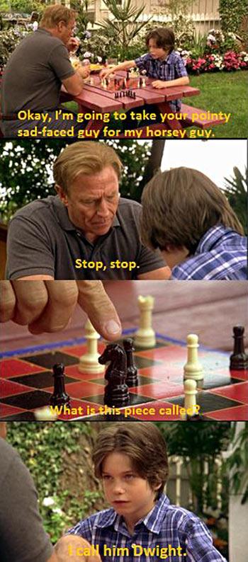 Chess lesson…