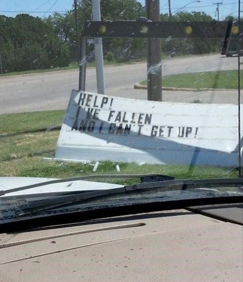 Help, I've fallen…