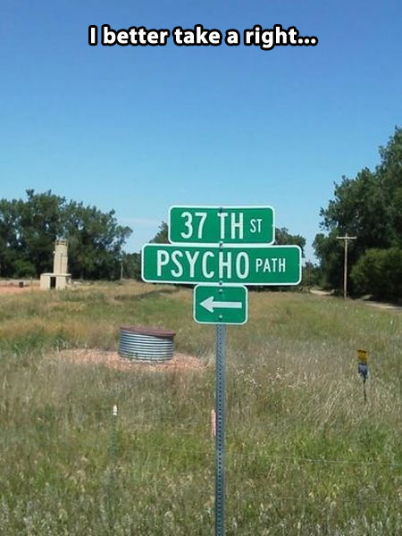 Maybe I'll go the other way…