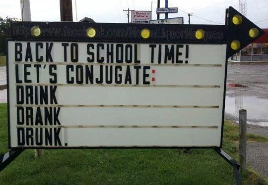 Let's conjugate…