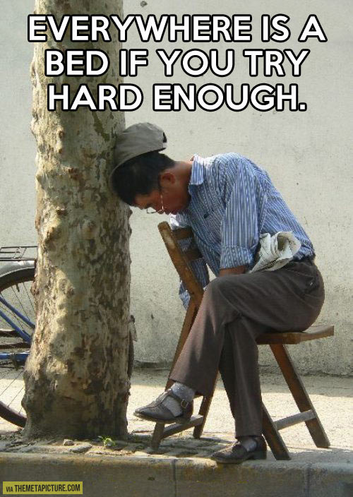 If you try hard enough…