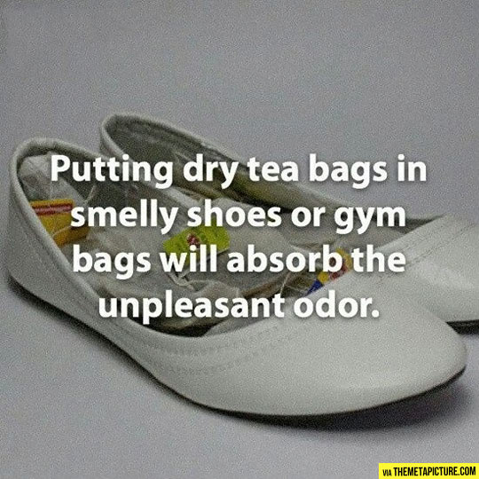 The dry tea solution…