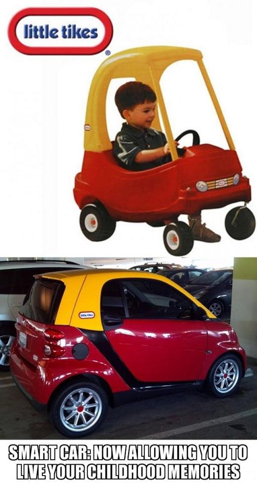 Smart car…