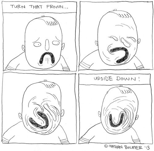 Turn that frown upside down…