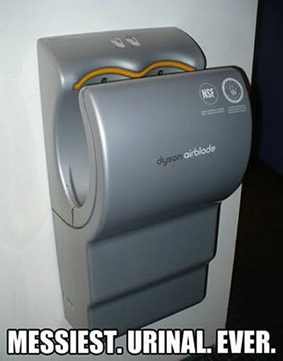 Messiest urinal ever…