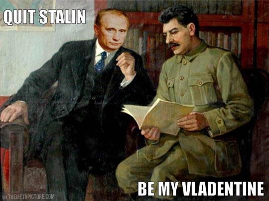 Vladentine's day…