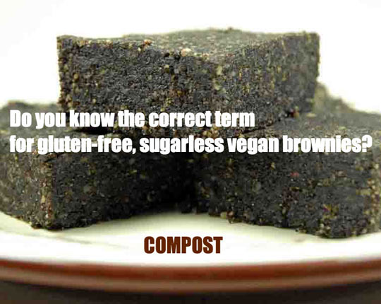 funny-vegan-compost-brownies