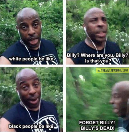 Billy is lost…