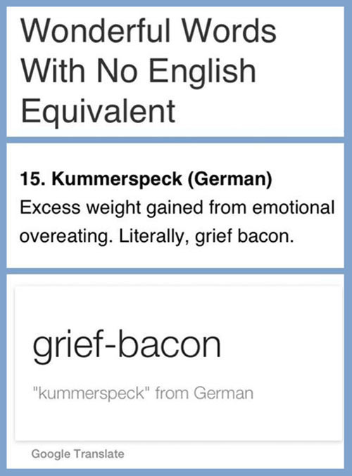 Words with no English equivalent…