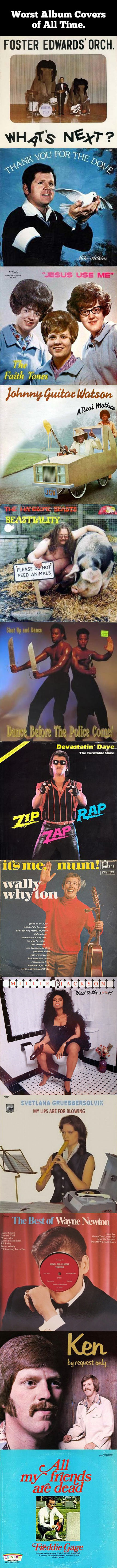 Worst album covers of all time…