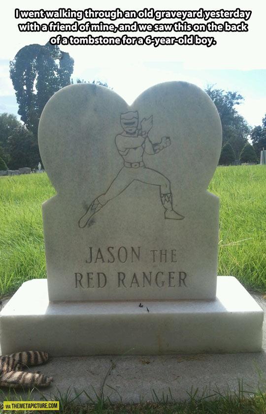 The little Red Ranger…