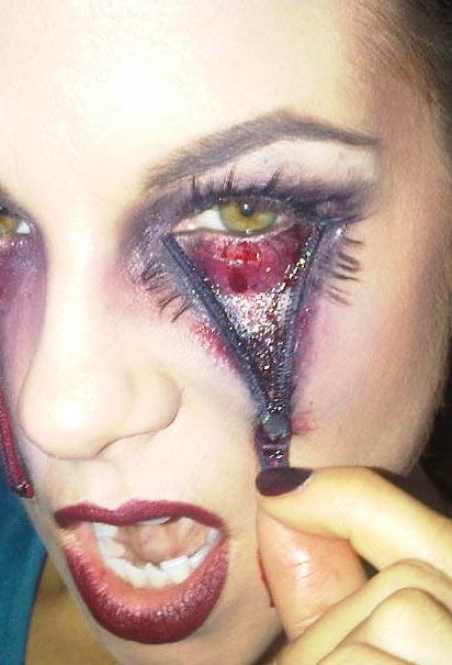 Halloween makeup - Cool Halloween Face Makeup