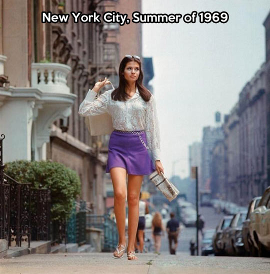 New York City in the 60s…