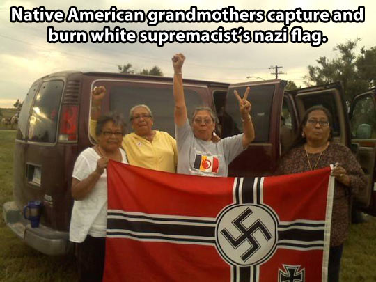 Badass native american grandmothers…