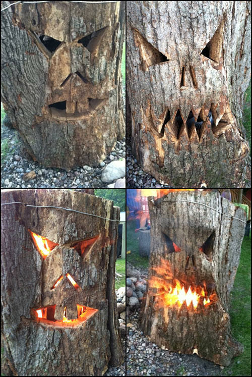 cool-log-carved-face-fire