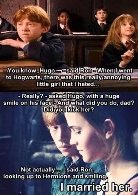 cute-Ron-Hermione-son-married