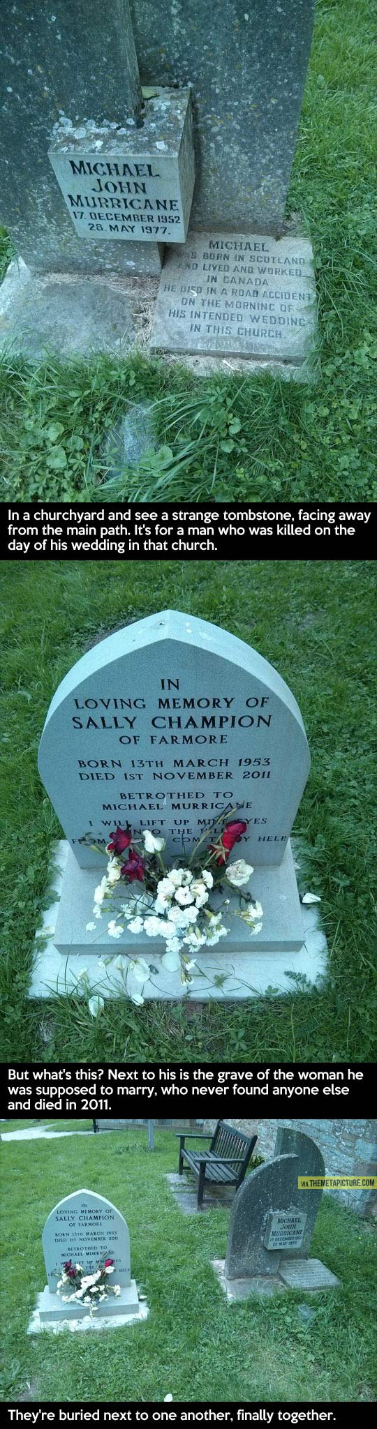 cute-tombstone-accident-wedding-couple