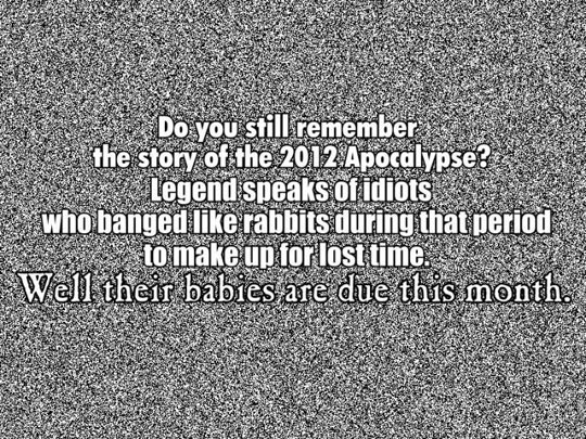The results of the Apocalypse…
