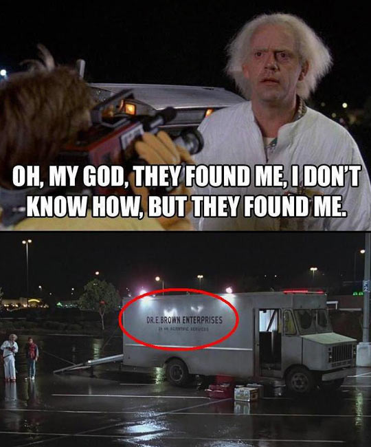 Now the mystery is solved…