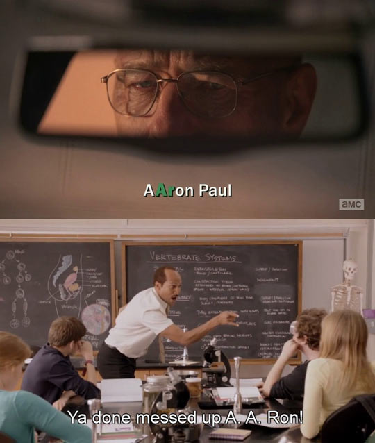 Every time I watch Breaking Bad…