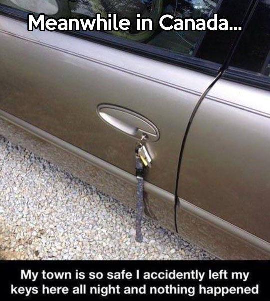 Ridiculously safe…