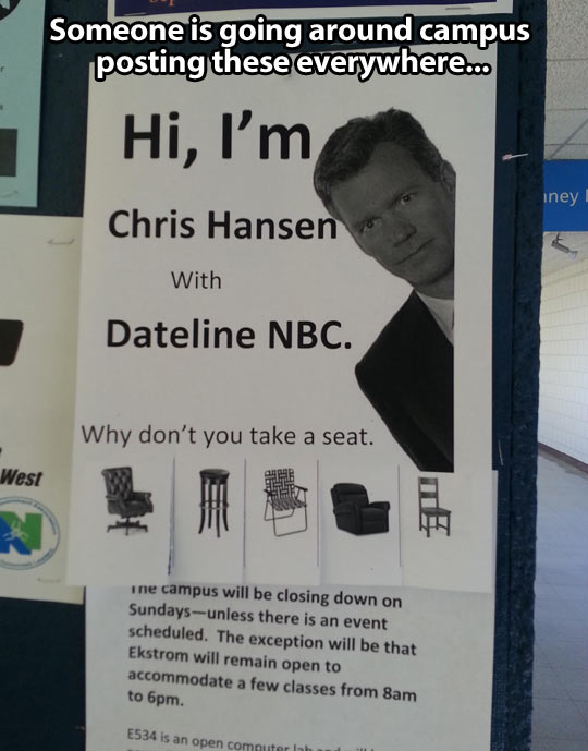 funny-Chris-Hansen-sign-seat