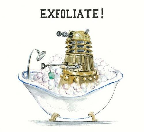 funny-Dalek-bath-exfoliate