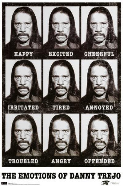 The emotions of Danny Trejo…