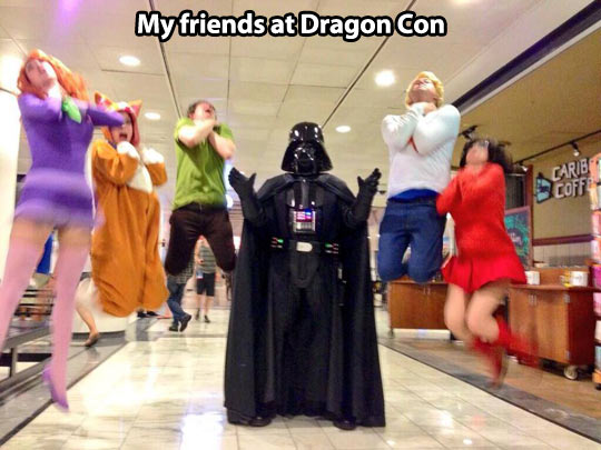 Vadering at Dragon Con…