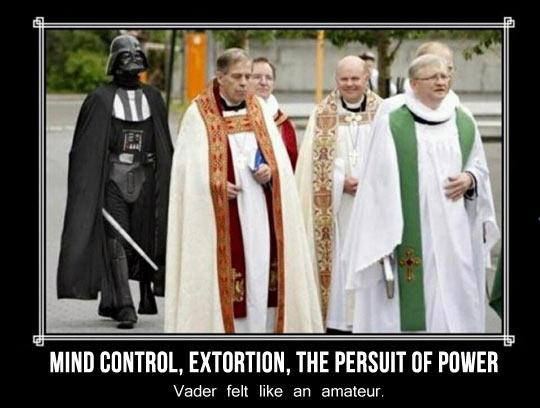 Holy Vader…