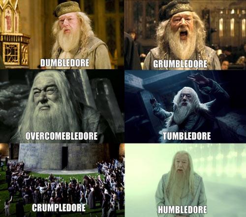 Types of Dumbledore…