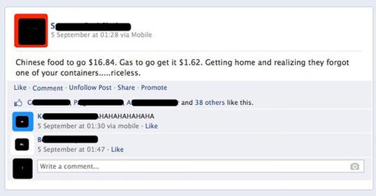 Some Facebook Gold…