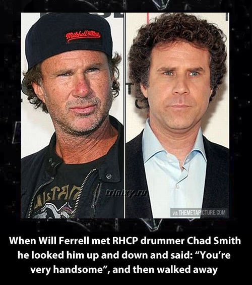 They look so alike…