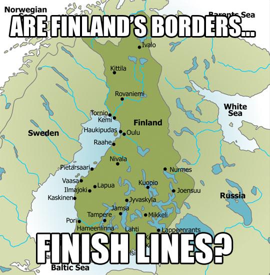 Finland's Borders…