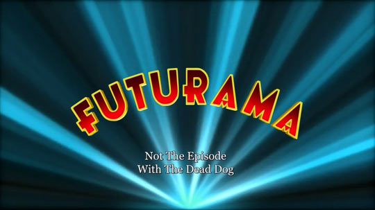 Ouch, Futurama. Right in the feels…