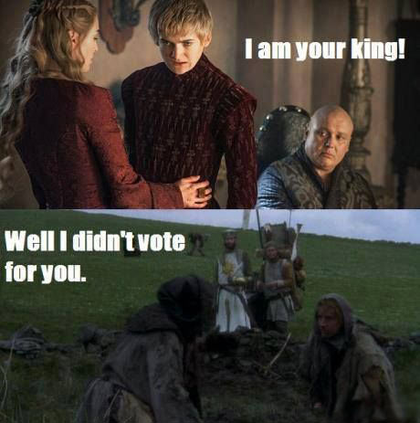 Monty Python meets Game of Thrones…