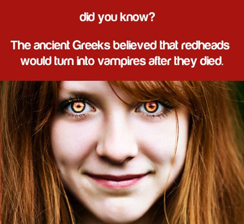Ancient gingers…