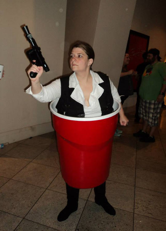the han solo cup