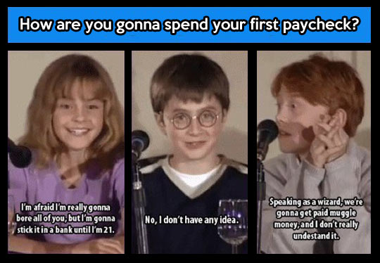 Rupert knows what's up…