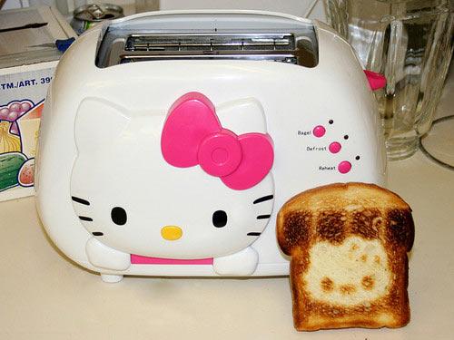Hello Kitty toaster…