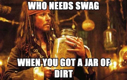 Captain Sparrow knows better…