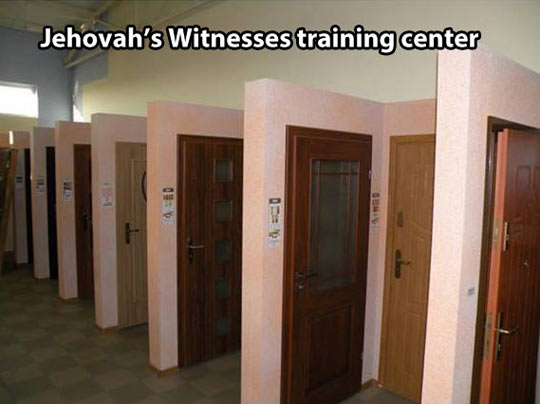 Where Jehovah's Witnesses go to train…