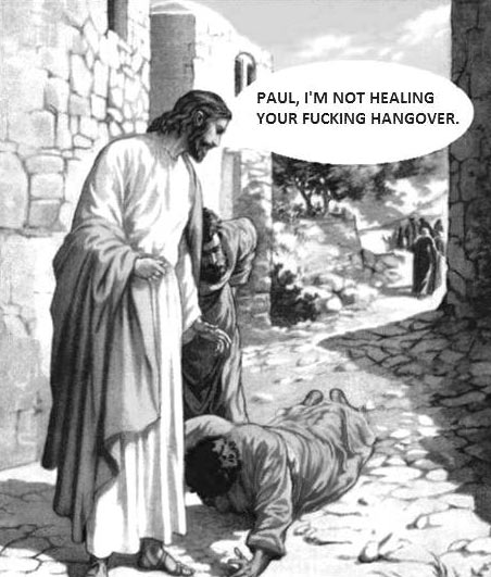 Jesus has had enough…